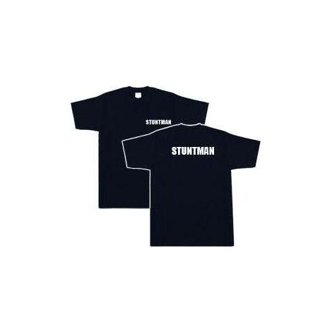 Stuntman T-shirt -  Black