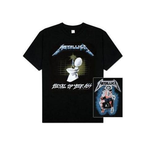 Metallica, Metal Up Your Ass T-shirt