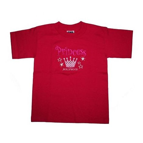 Hollywood Princess Fuschia Color T-Shirts