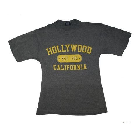 Hollywood California in Graphite T-shirt