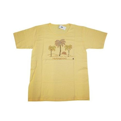 Hollywood 3 Palms Light Yellow T-shirt