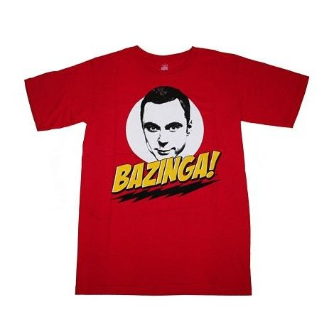 Big Bang Theory,  Bazinga! T-Shirt