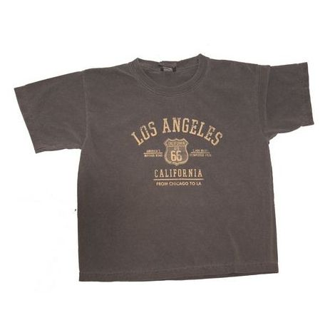 Charcoal Los Angles US 66 T-Shirt
