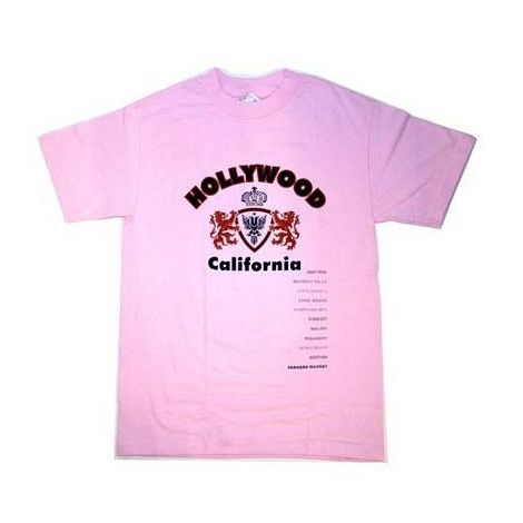 Hollywood California T-Shirt Size Small