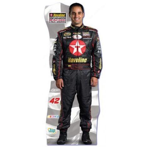 NASCAR Juan Pablo Montoya Cutout