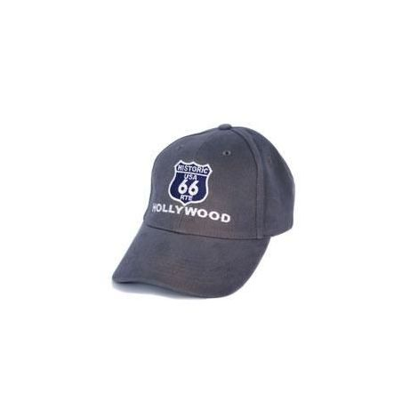 Grey Route 66 Cap