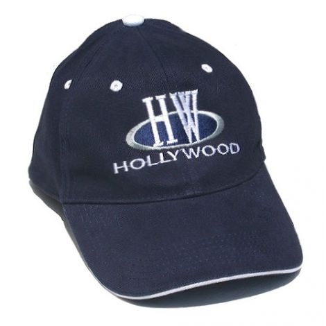 Hollywood Initials Cap - Navy