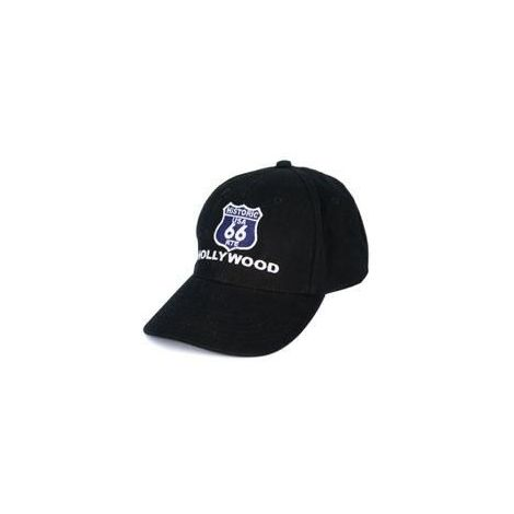 Black Route 66 Cap