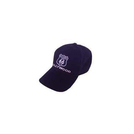 Navy Blue Route 66 Cap