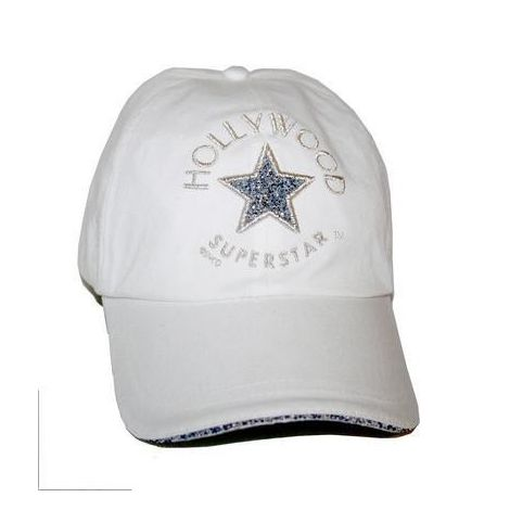 White Hollywood Superstar cap
