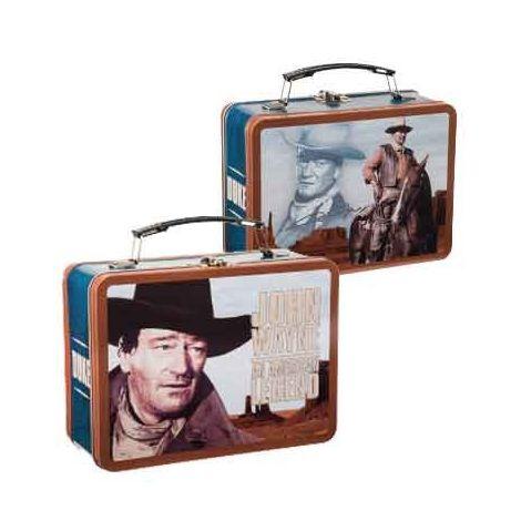 John Wayne Large Tin Tote