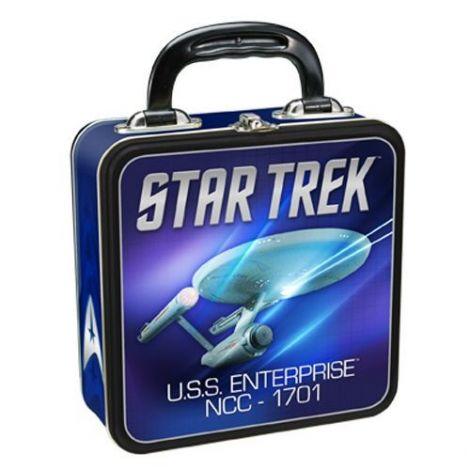Star Trek Square Tin Tote
