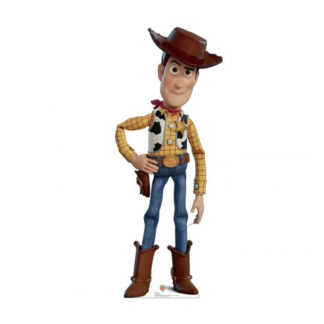Woody from the Disney, Pixar film Toy Story 4 Cardboard Cutout *2923