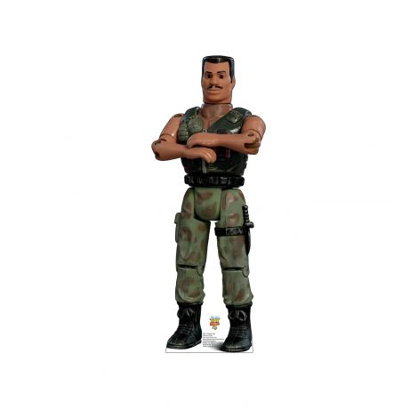 Combat Carl from the Disney, Pixar film Toy Story 4 Cardboard Cutout *2931