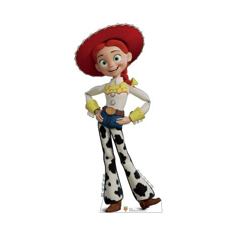 Jessie from the Disney, Pixar film Toy Story 4 Cardboard Cutout *2936