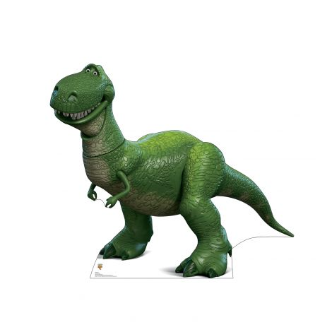 Rex  from the Disney, Pixar film Toy Story 4 Cardboard Cutout *2940