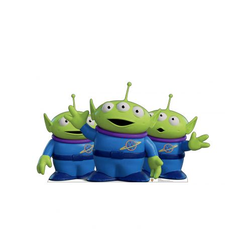 Aliens from the Disney, Pixar film Toy Story 4 Cardboard Cutout *2942
