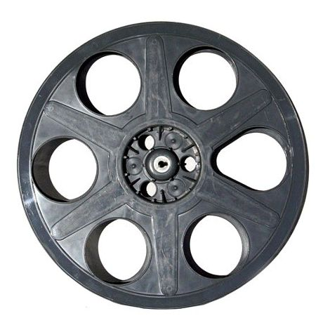 Used Hollywood Gray Plastic Reel ( limited quantities )