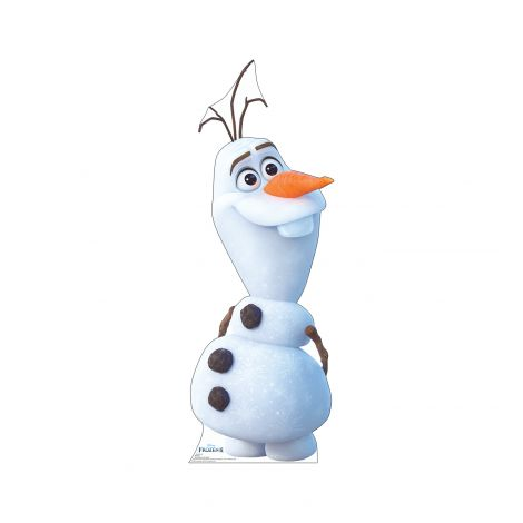 Olaf Cutout from Disney's Frozen II *2948
