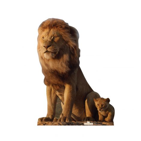 King Mufasa from Disney's The Lion King Live-Action Cutout *2949