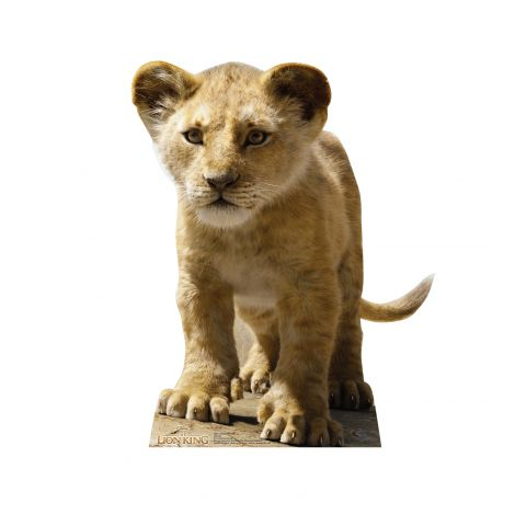 Young Simba from Disney's The Lion King Live-Action Cutout *2950
