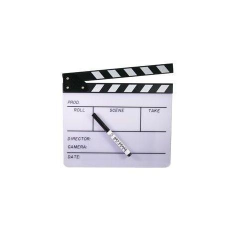 White Director's Clapboard