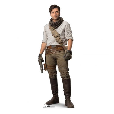 Poe Cardboard Cutout from Star Wars IX *2972