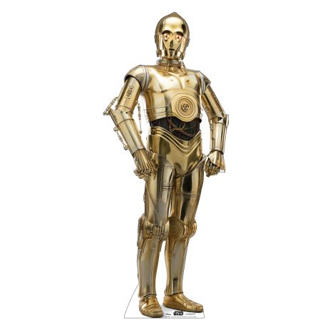 C-3PO Cardboard Cutout from Star Wars IX *2973