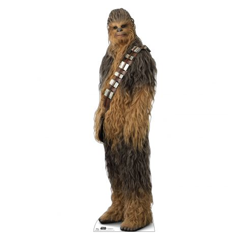 Chewbacca Cardboard Cutout from Star Wars IX *2974