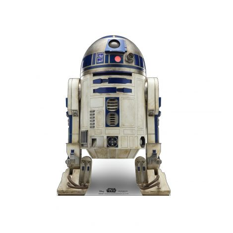R2-D2 Cardboard Cutout from Star Wars IX *2978