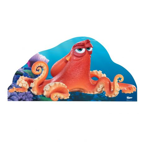 Hank the octopus from Cardboard Cutout *2218