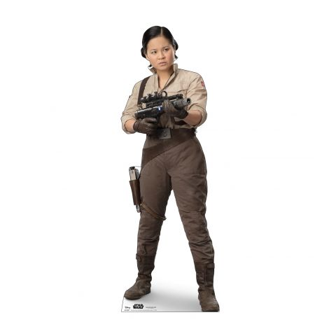 Rose Cardboard Cutout from Star Wars IX *2981