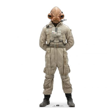 Mon Cal General Cardboard Cutout from Star Wars IX *2983