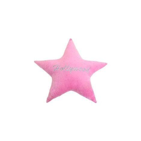 Hollywood Star Plush Pillow - Pink