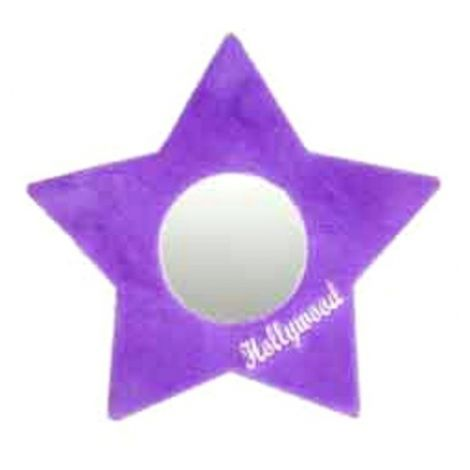 Plush Star Mirror -Violet