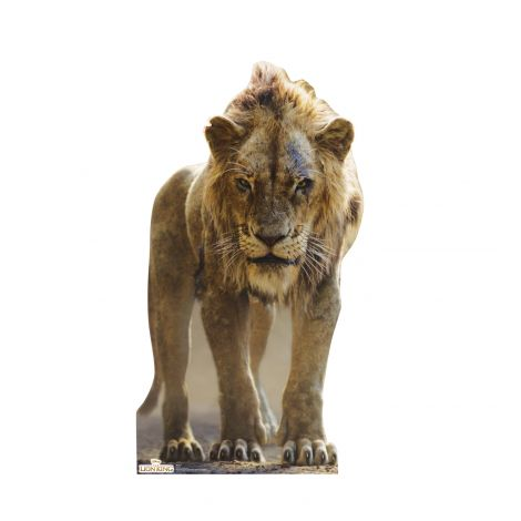 Scar from Disney's The Lion King Live-Action Cutout *2994
