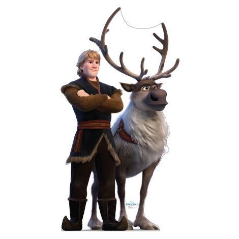 Kristoff & Sven Cutout from Disney's Frozen II *2997