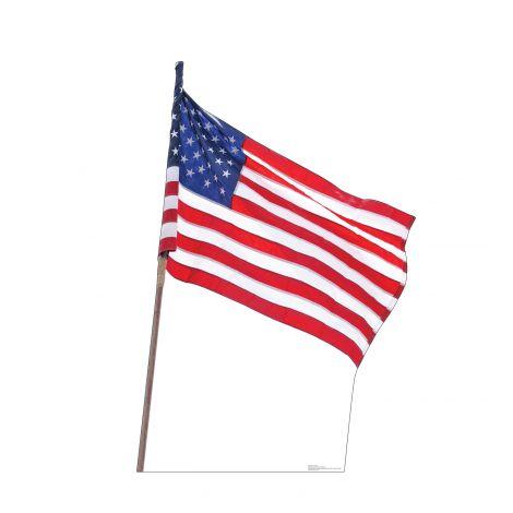 American flag Cutout *2999