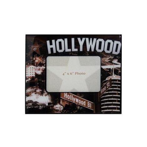 Hollywood Wood Sepia Picture frame
