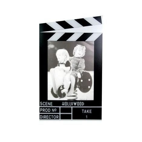 Clapboard Vertical Picture Frame - 4x6""