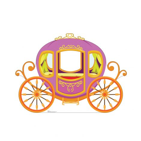 Carriage Cardboard Cutout *3008