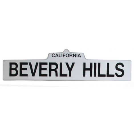 Beverly Hills Street Sign