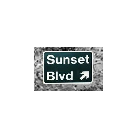 Sunset Freeway Sign
