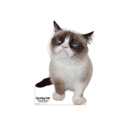 Grumpy Cat Cardboard Cutout *3047