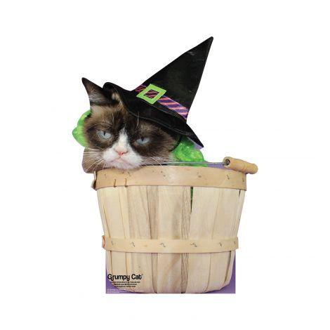 Grumpy Cat Halloween Cardboard Cutout *3051