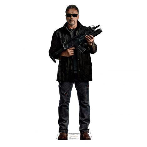 T-800 Arnold Schwarzenegger Terminator Dark Fate Cardboard Cutout *3057
