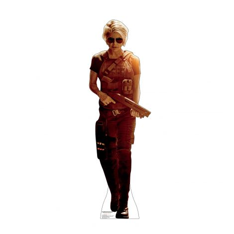 Sarah Connor from Terminator Dark Fate Cardboard Cutout *3058