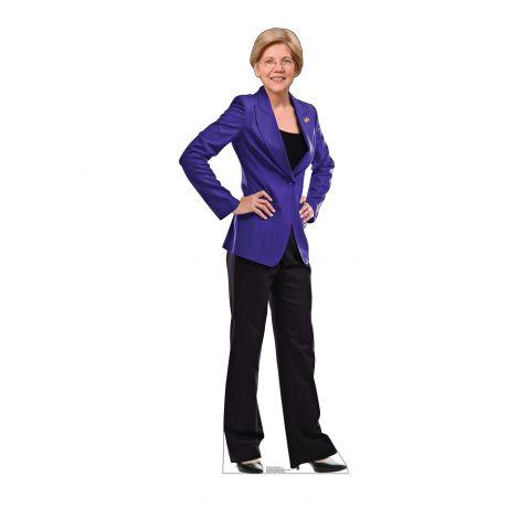 Senator Elizabeth Warren Cutout *3059