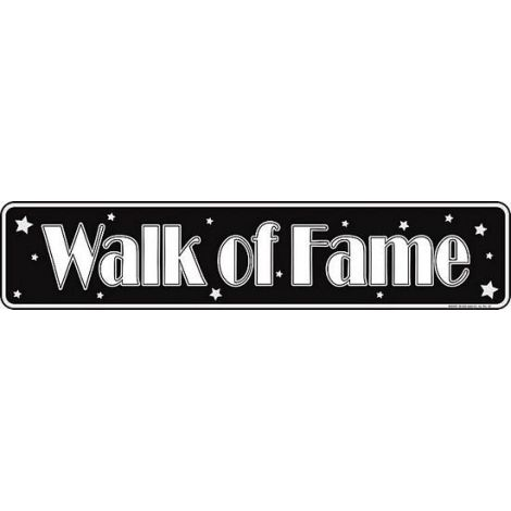Walk of Fame Tin Sign