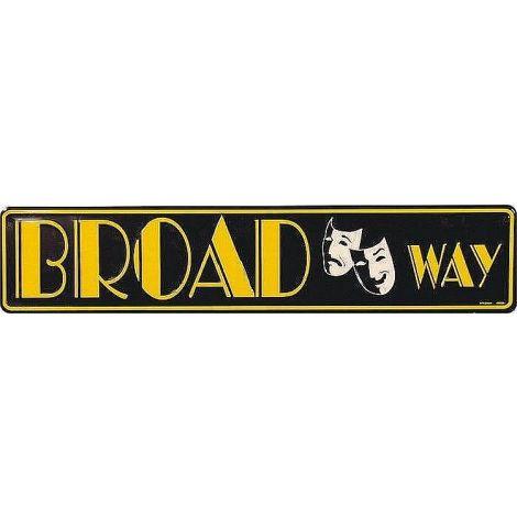 Broadway Tin Sign